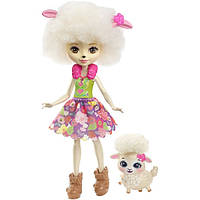 Кукла Барашка Лорна и Флаг - Enchantimals Lorna Lamb Doll with Flag