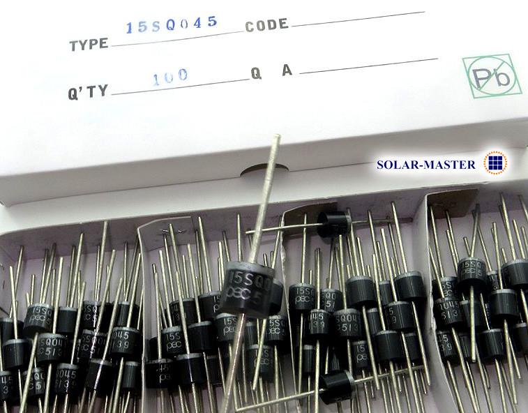 Диод Шоттки 15А 45В для солнечных батарей и ветрогенераторов (15SQ045)
