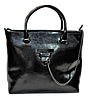 Женская сумка из натуральной кожи черного цвета BWX-075220