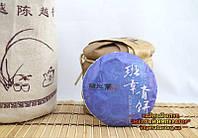 "Китайский зелёный чай - Шен пуэр ""Бан Джан Чин"", 2012 год"