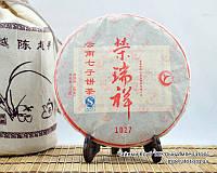 """Китайский чёрный чай - Шу пуэр  """"1027"""", 2011 год, фото 1"""