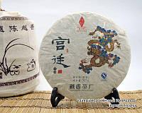 """Китайский чёрный чай - Шу пуэр """"Гун Тин"""", 2013 год, фото 1"""