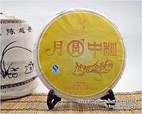 """Китайский зелёный чай - Шен пуэр """"Праздник середины осени"""", 2012 год, фото 1"""