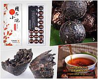 """Китайский чёрный чай - Шу пуэр """"Ароматный Клейкий рис"""", (мини тоу ча), 125 г."""