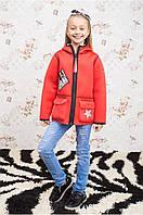 Куртка деми для девочки Брэнда, р-ры 122,128,134,140,146,152