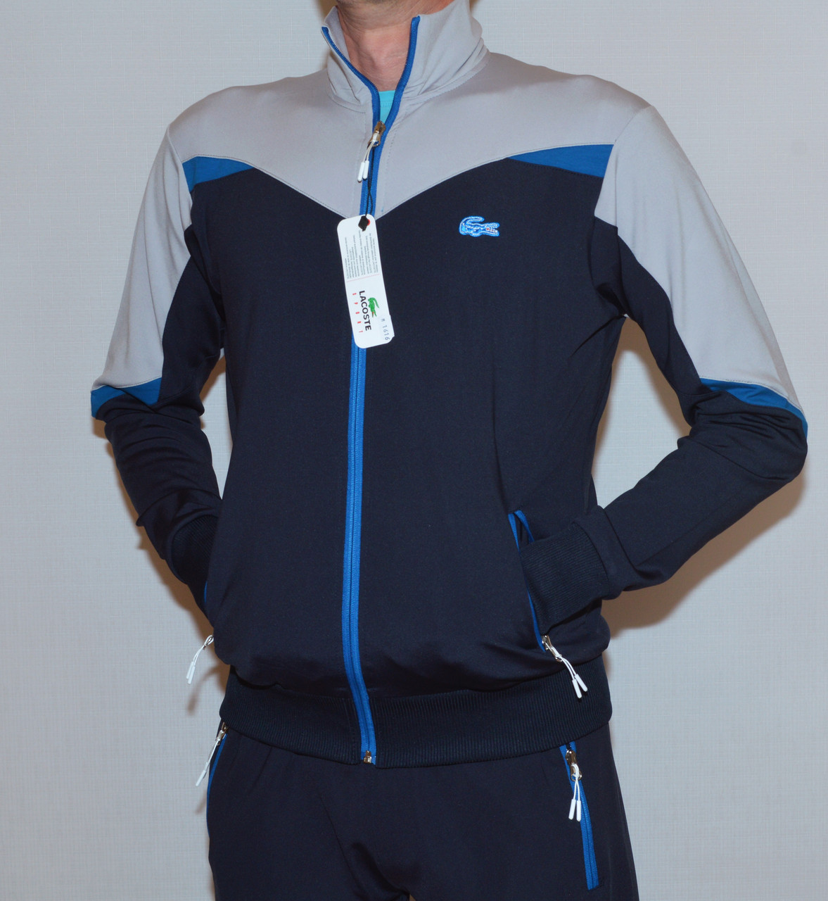 100128130214 Спортивный костюм lacoste мужской (XL) (копия) - Casual Wear Shop в Умани