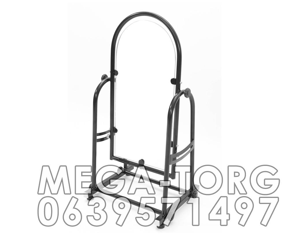 Зеркало примерочное обувное 0.70 х 0.30 м (черное, белое, металлик) - Megatorg7km в Одессе