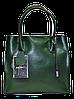 Женская сумочка GALANTY из натуральной кожи зеленого цвета LZZ-870002