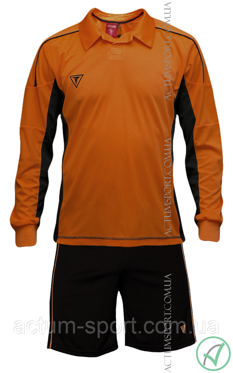 Футбольная форма с длинным рукавом Mriya Titar Оранжевый, S