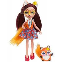Кукла Лисичка Фелисити и Флик - Enchantimals Felicity Fox Doll with Flick