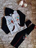 Спортивный костюм на мальчиков на байке 2-8 лет. Турция
