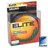 Жилка плетена Salmo ELITE BRAID Green  091/013  (інд.уп/ *5)