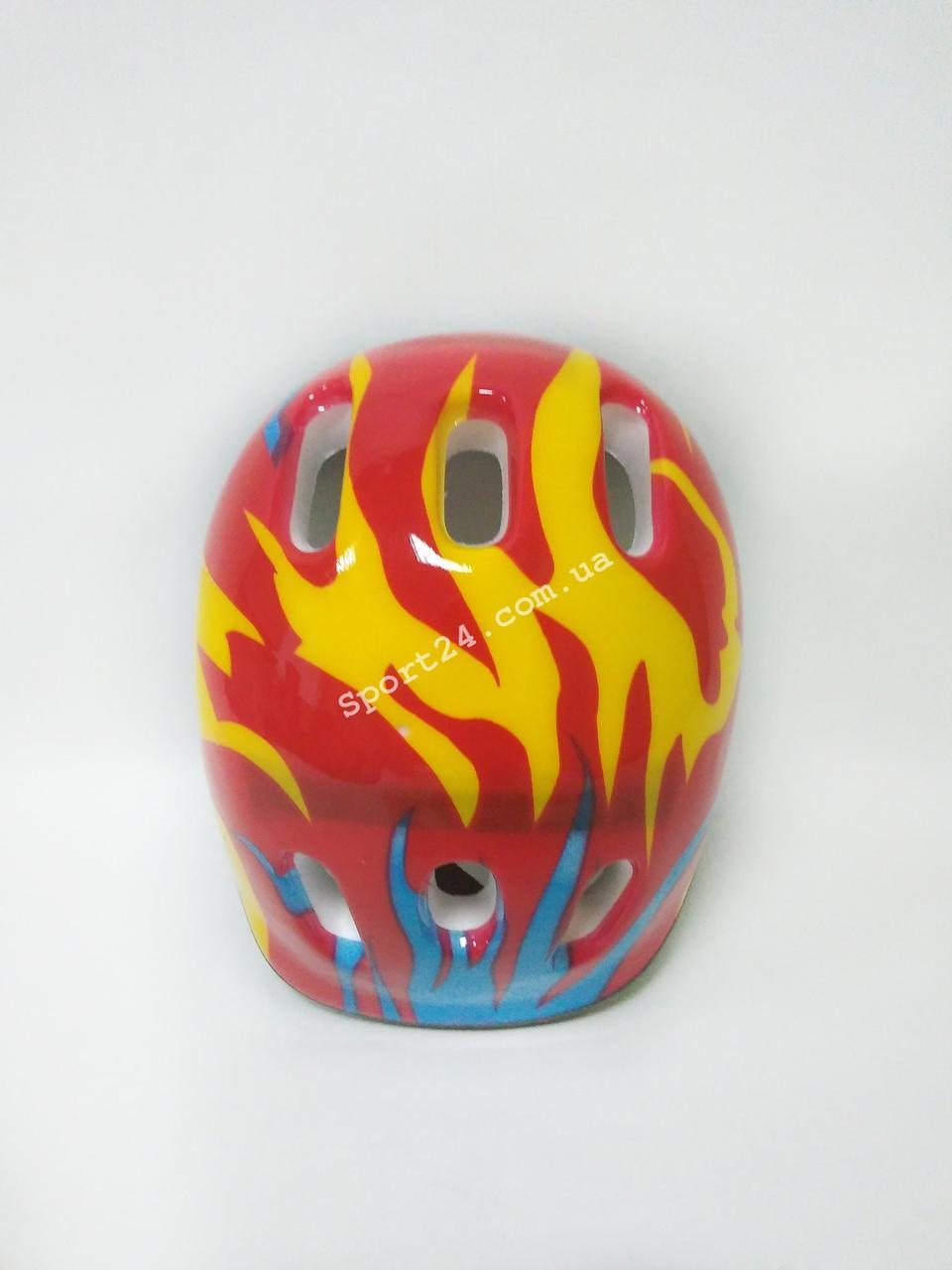 Защитный шлем для детей Красный