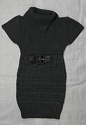 Туника вязаная с коротким рукавом (InCity, Турция)