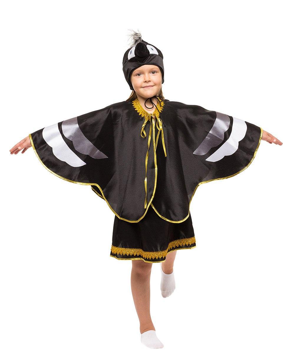 """Детский карнавальный костюм """"Ворона"""" для девочки"""