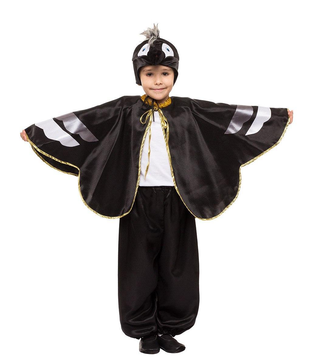 """Детский карнавальный костюм """"Ворон"""" для мальчика"""
