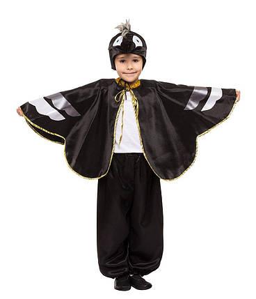 """Детский карнавальный костюм """"Ворон"""" для мальчика, фото 2"""