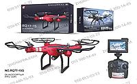 Квадрокоптер RQ77-15G с камерой, радиоуправляемый, с гироскопом, фото, видео, 4 канала управления