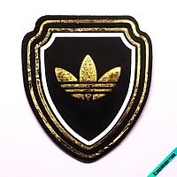 Термонашивка, наклейка на одежду Логотип [28 шт. на листе]