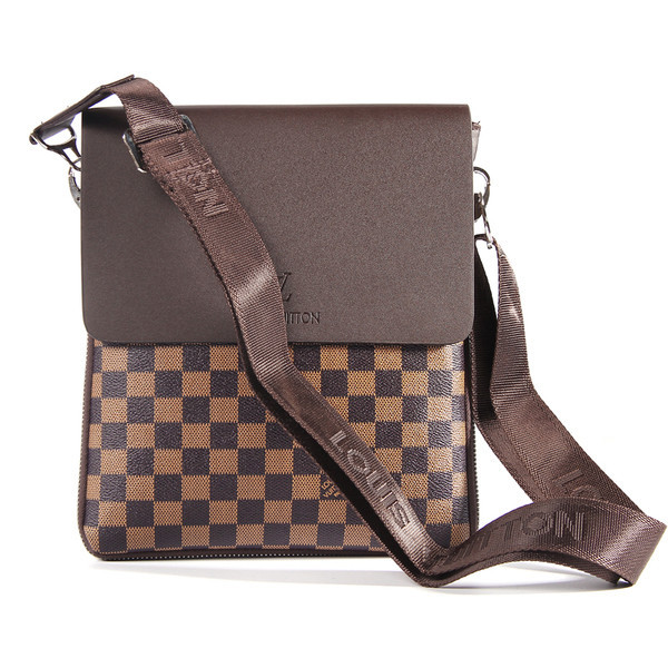 06db2dca7fa4 Мужская сумка Louis Vuitton, коричневая Луи Виттон - Интернет-магазин