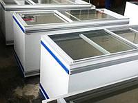 Морозильные лари с прямым стеклом бу AHT Salzburg 83/210 (-)
