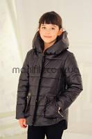 Курточка для девочки шоколадного цвета