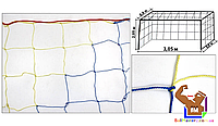 Сетка на футзальные, гандбольные ворота любительская (2шт.) капрон, фото 1
