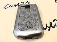 Чехол Case-Mate для Samsung Galaxy S3 Mini I8190 серебристый (+ пленка)