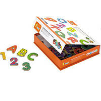 """Набор магнитных букв и цифр Viga Toys """"Буквы и цифры"""" 59429"""