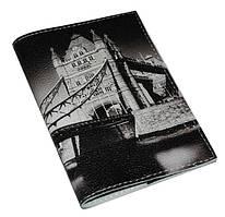 Обложка мужская для паспорта -Мост-