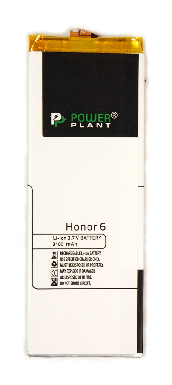 Аккумулятор PowerPlant Huawei Honor 6 (HB4242B4EBW) 3100mAh