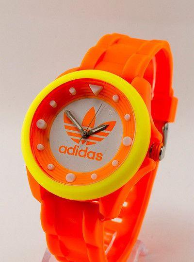"""Спортивные часы Adidas, Адидас оранжевые - Интернет-магазин """"TaraBara"""" в Днепре"""