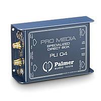 Медиа DI Box 2 канала для компьютеров и ноутбуков Palmer Pro PLI 04