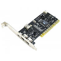 Контроллер PCI 4xFirewire (IEEE 1394) VIA chip Atcom (7804)