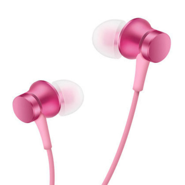 Наушники (гарнитура) XIAOMI Piston Basic Pink