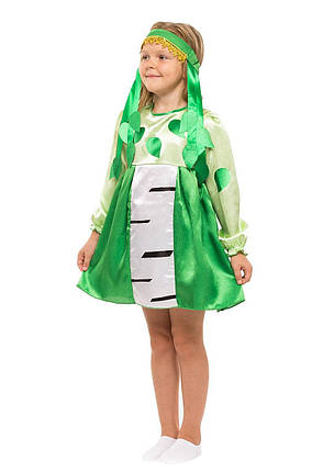 """Детский карнавальный костюм """"Березка"""" для девочки, фото 2"""