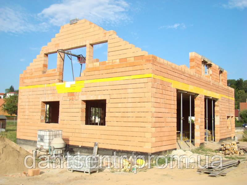 Строительство домов из керамических блоков
