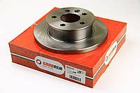 Тормозной диск передний не вентилируемый R15 Volkswagen T4 (90-96) (260x16) GOODREM RM3127