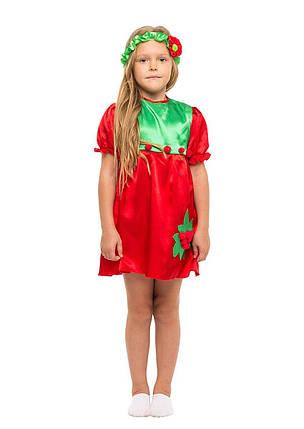 """Детский карнавальный костюм """"Калина-Рябина"""" для девочки, фото 2"""