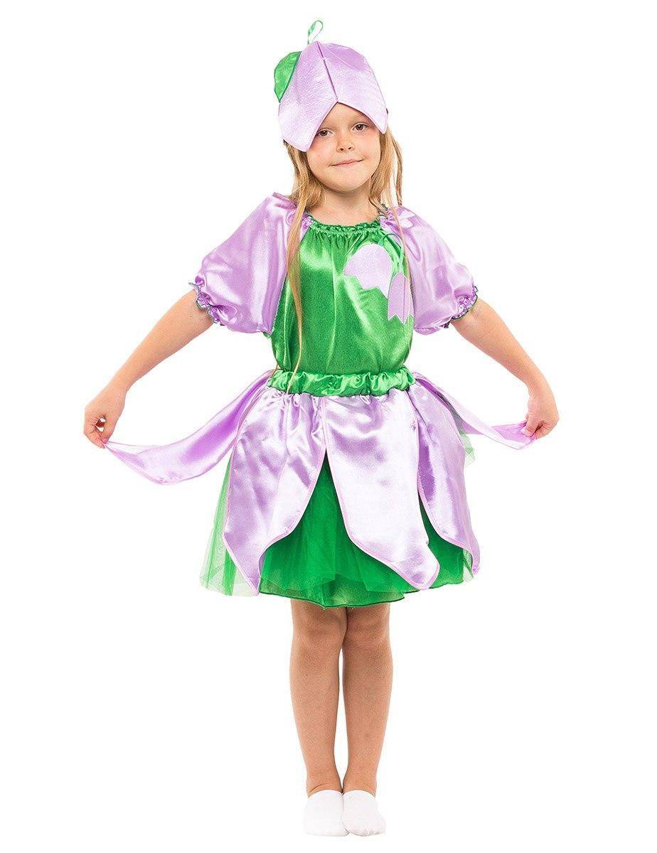 """Детский карнавальный костюм """"Дюймовочка-Колокольчик"""" для девочки"""