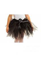 Черная  пышная  юбка туту   для девочки