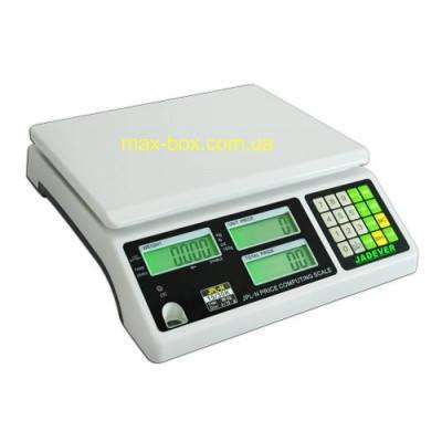 Торговые весы с поверкой 30 кг JPL-N 1530