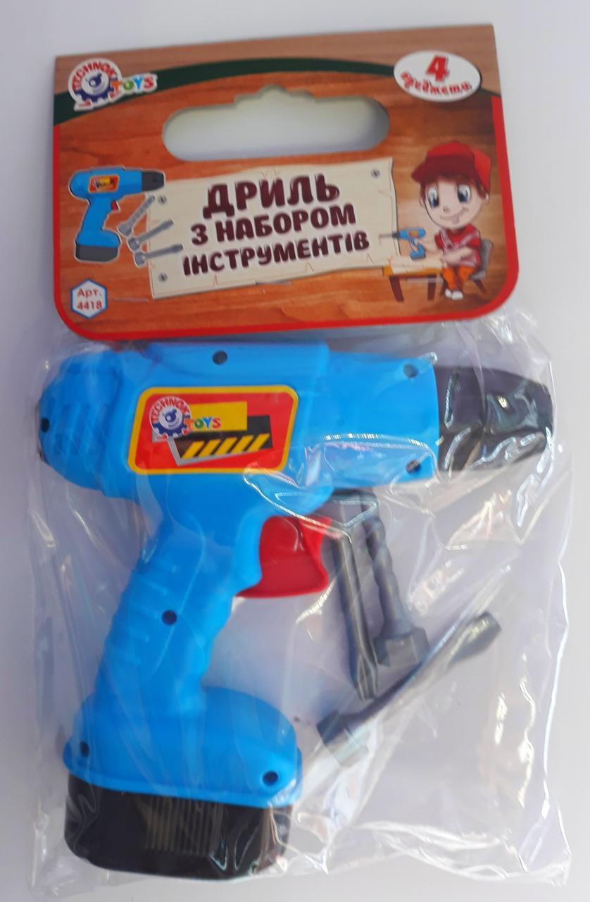 Дитячі інструменти Дриль В пакеті 4418 Технокомп Україна