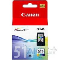 Картридж Canon CL-511 MP260 (2972B001/ 2972B007/ 2981B007/ 29720001) Color