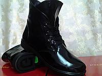 Стильные демисезонные лаковые ботинки Terra Grande, фото 1
