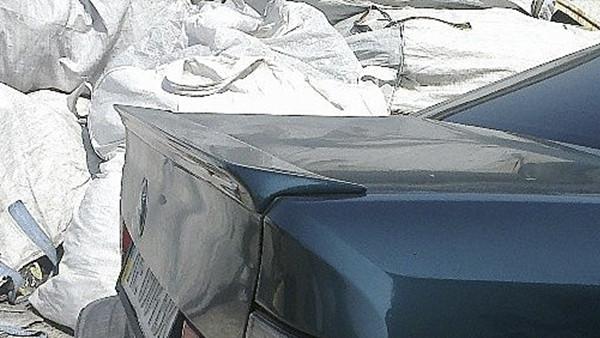 Лип спойлер на БМВ Е34 (BMW E34) (большой)