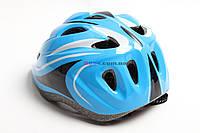 Шлем детский Roller - регулировка окружности и светящийся маячок на затылке для езды в ночное время