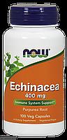 Эхинацея Echinacea Purpurea, Now Foods, 400 мг, 100 капсул