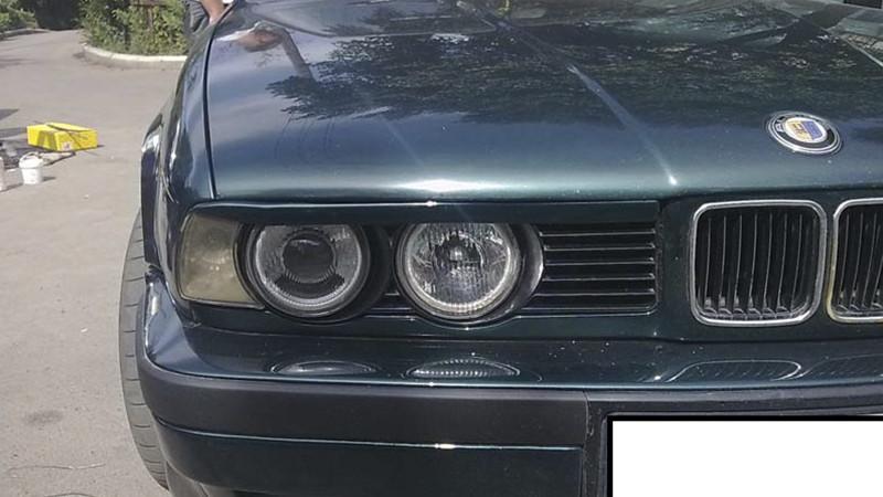 Реcнички прямые на БМВ Е34 (BMW E34) /комплект