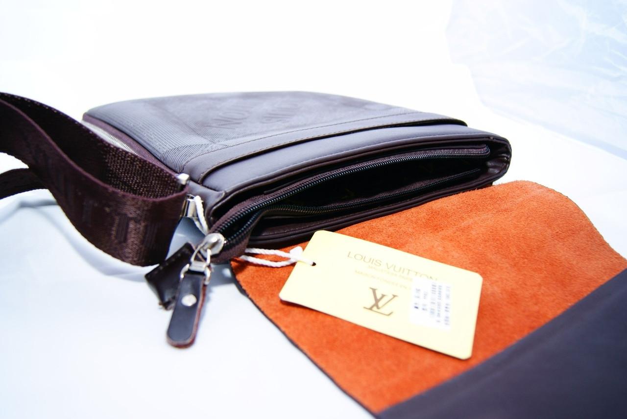 b2617998a1af Мужская сумка Louis Vuitton, коричневая Луи Виттон  продажа, цена в ...